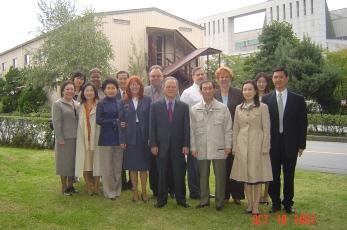 My new family in Korea.