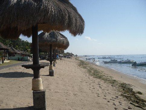 Beach side..