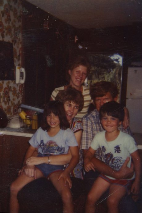 KaraLynee, her parents, and my kids circa 1982.  If I knew then what I know now would I have made a different choice?