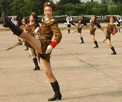 north korean naked women