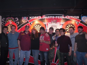 Winding down my time in Korea with lots of darts (and my share of wins) with the good folks at Bull and Barrel...