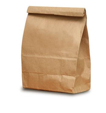 A big BROWN bag full of racism!