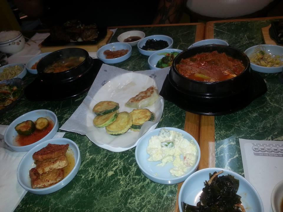 """Jee Yeun is the expert and she declared the food at Korean Garden to be excellent.  I  enjoyed the galbi and """"ding dong"""" jiggae very much as well..."""