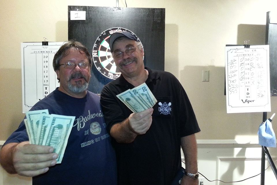 Second place finish in the blind draw tourney last night.