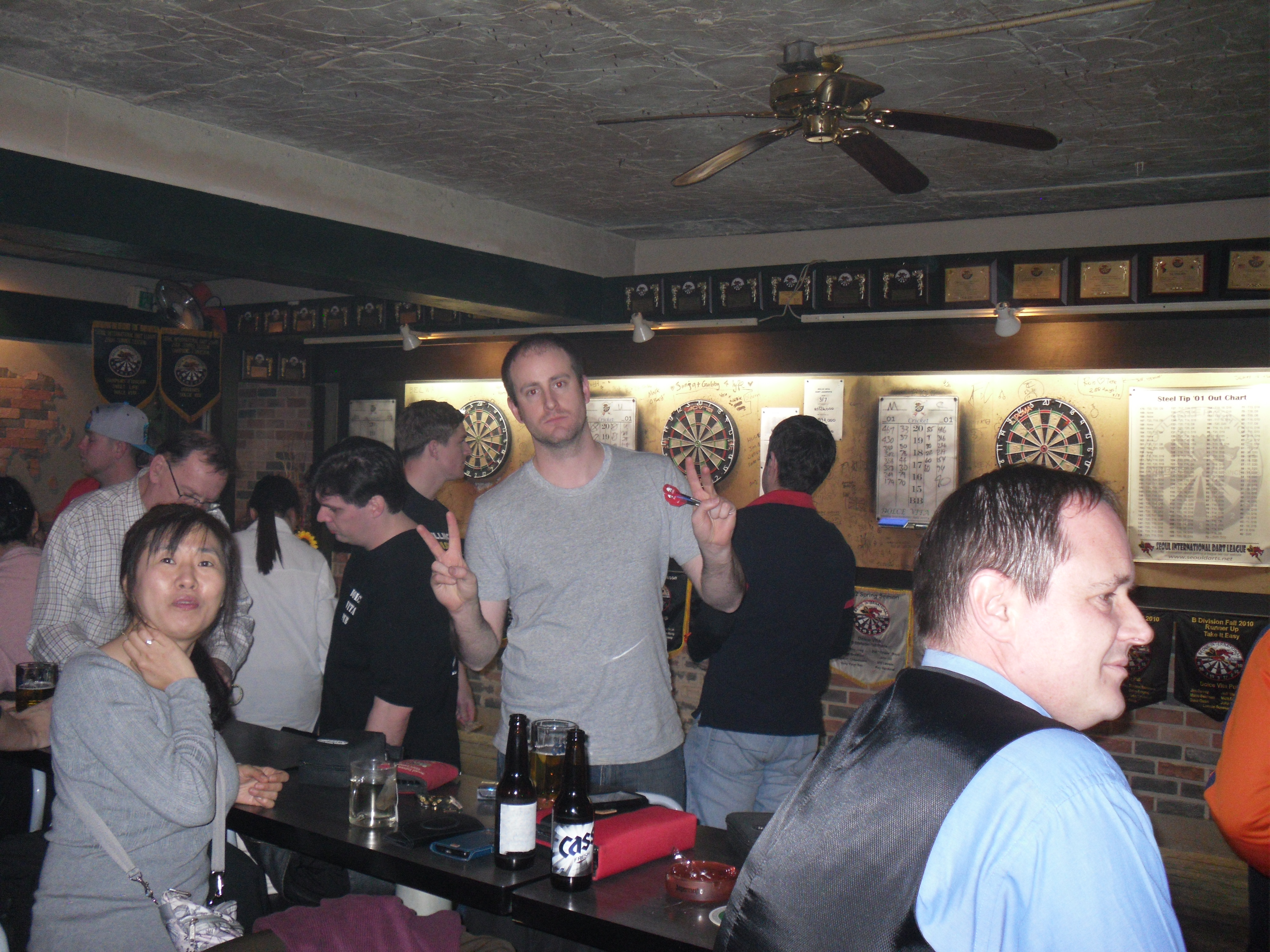 A larger than usual turnout for the Friday blind draw at Dolce Vita.