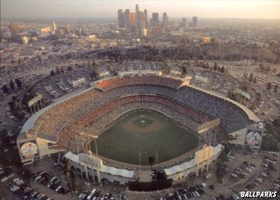 I was a big baseball fan growing up in southern Cal and of course my favorite team was the Dodgers.  My dad took me to my first game for my 10th birthday in 1965.  Lots more great times were had over the years in Chavez Ravine...