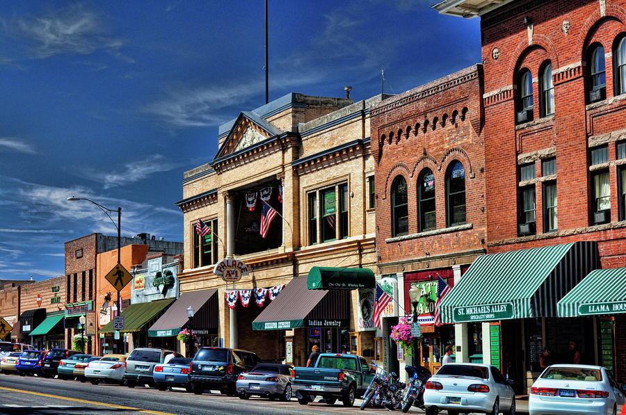 """Prescott's famous """"Whiskey Row"""", which as the name implies is a street filled with bars.  Back in the day they were almost exclusively country bars..."""
