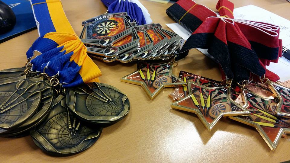 ...and medals to those who earned them...