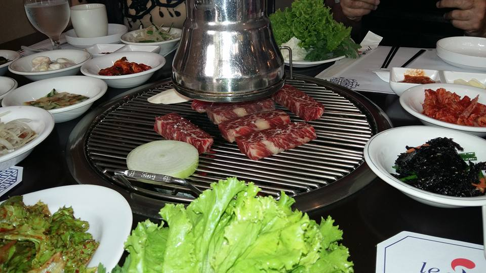 Interestingly, they only featured beef, no pork. The galbi was as good as any I've eaten in Seoul. and I was very impressed with the quantity and and quality of the various side dishes. Even got to use my limited Korean vocabulary with the waitress. A very enjoyable meal...