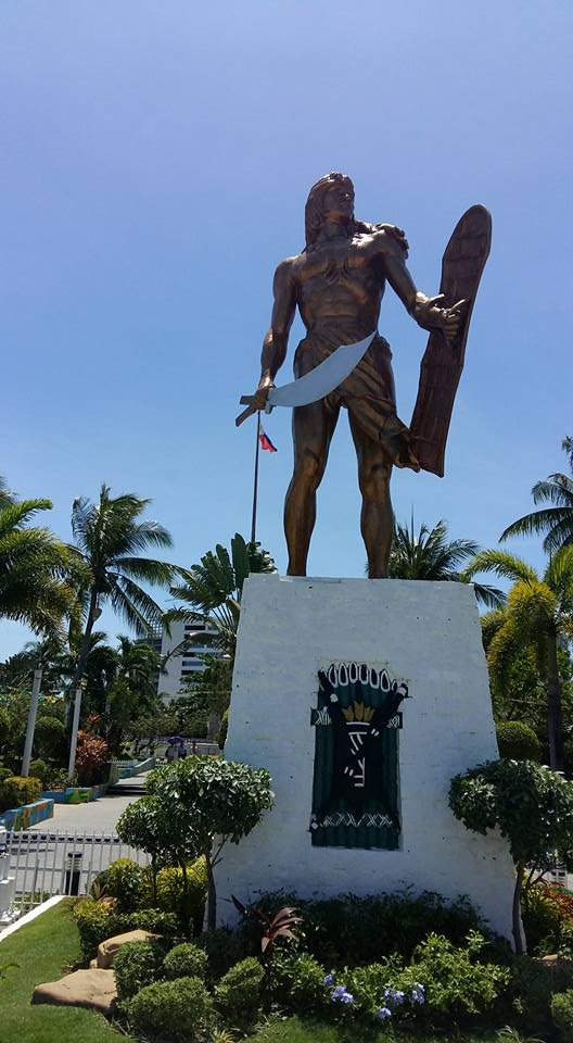 Lapu Lapu, the famed slayer of Magellan...
