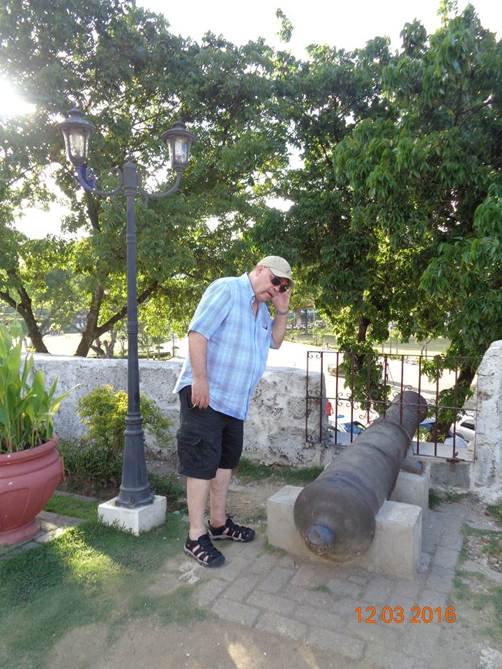 and the cannons used to roar...