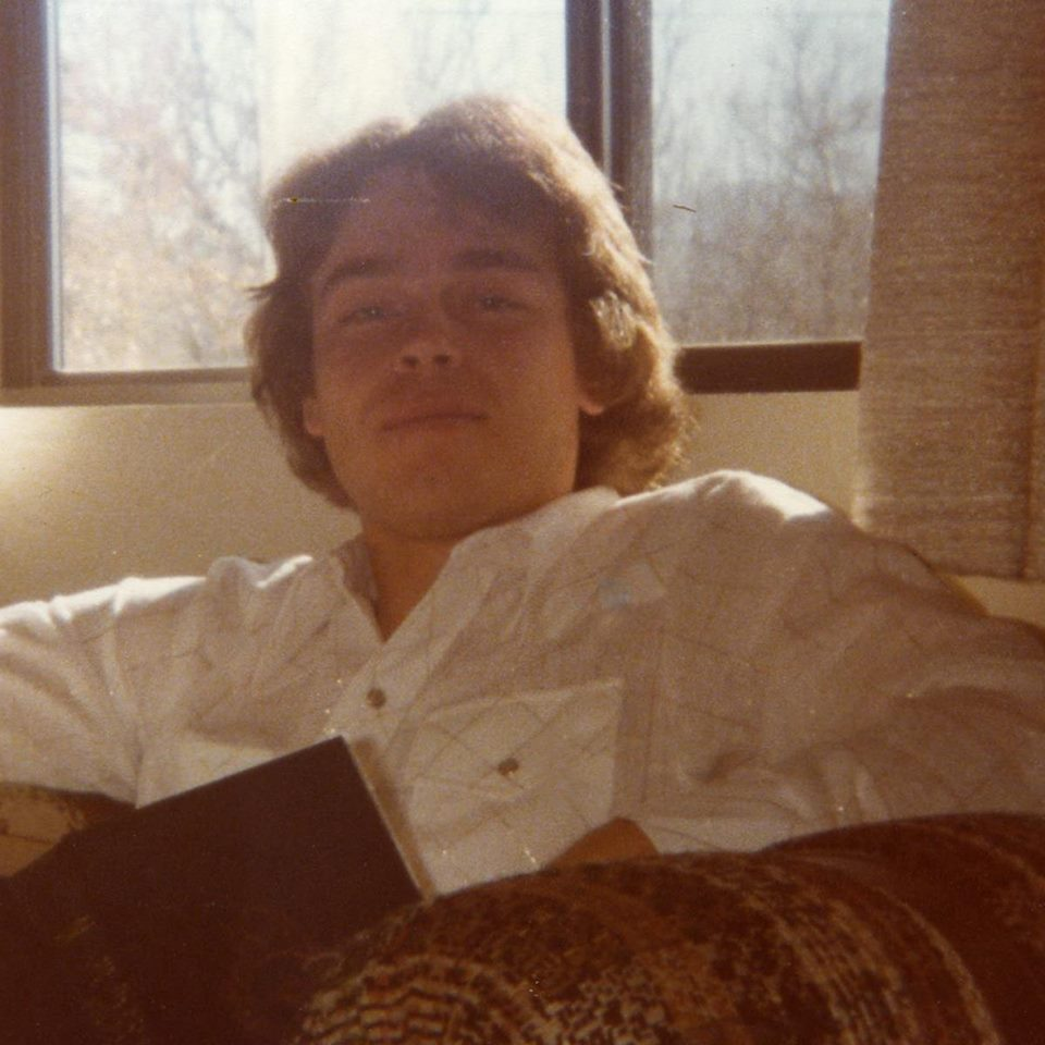 That's me circa 1978.  23 years old and reading Lord of the Rings.  Man, there is so much I'd like to tell that guy...Like invest in Microsoft...
