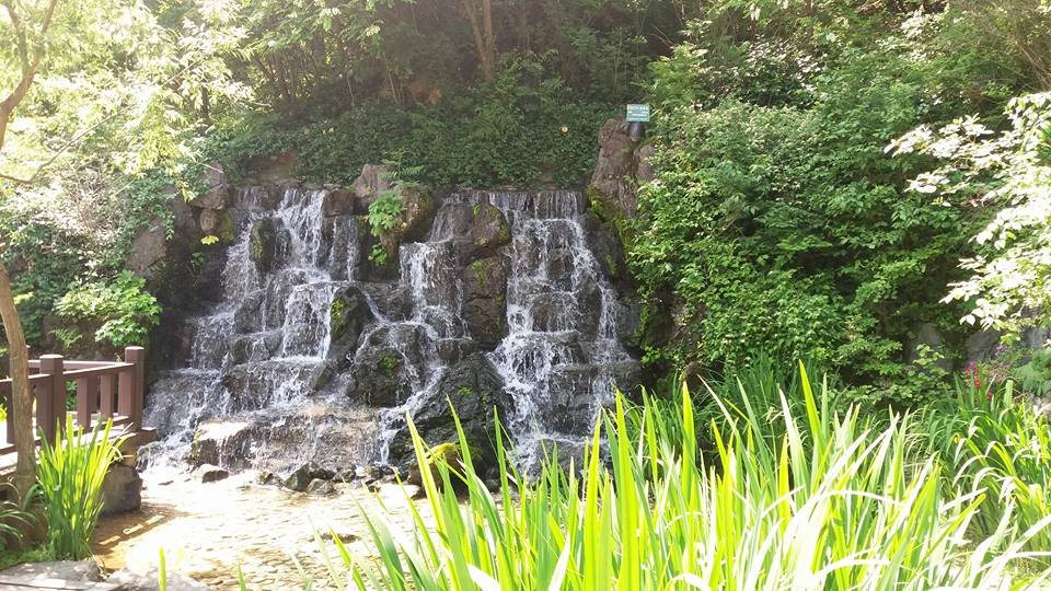 A waterfall on Namsam...