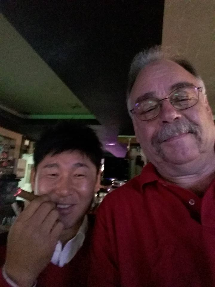 I ran into an old friend from Seoul at the tourney.  Used to play darts with him back in the day but hadn't seen him in years.  Nice to see you again CH!