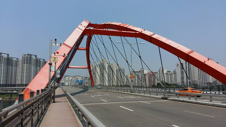 By far the farthest bridge I've ventured too thus far. Far and away.
