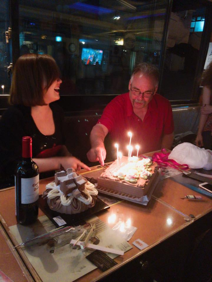 For example, I helped my Mongolian friend Sonya celebrate her 27th birthday...