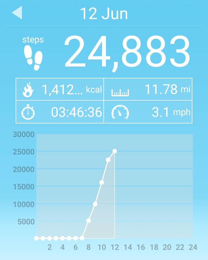 Had a good long walk this time...