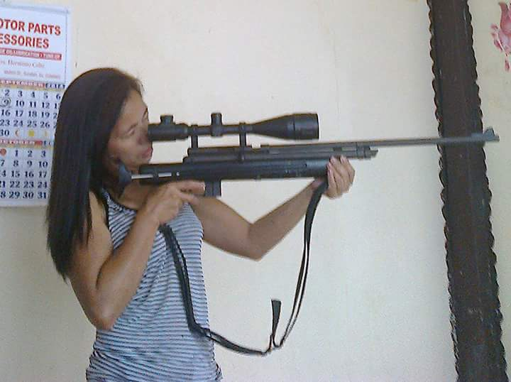 Maria, armed and dangerous...