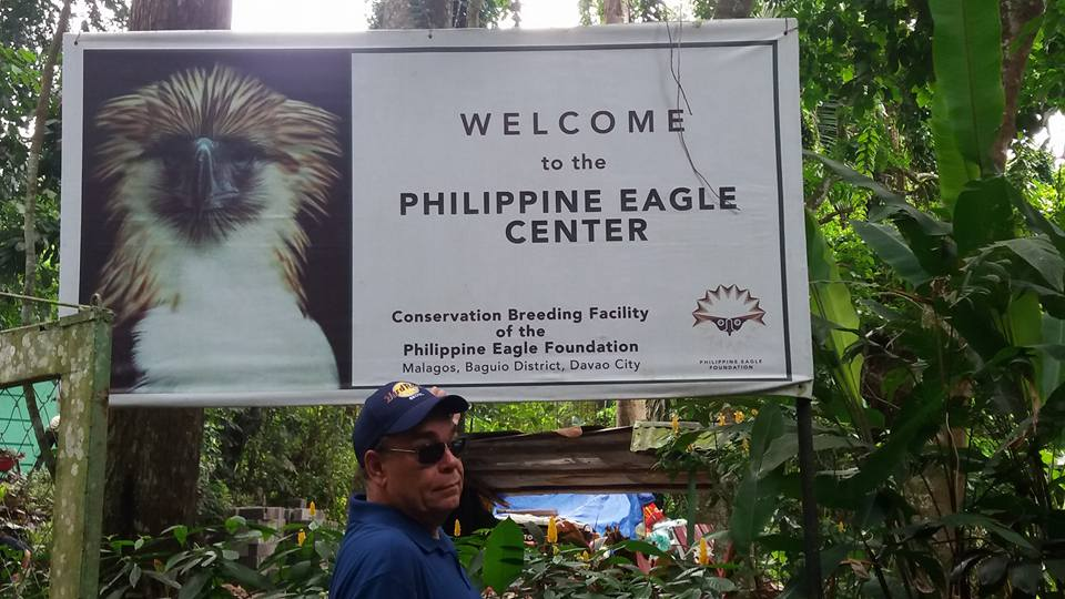 So, having seen all the sights on Samal, we moved on to Davao where the Philippine Eagle Center is a must see tourist attraction...