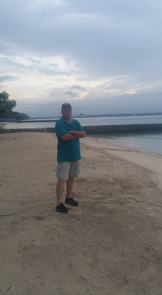 Me on the beach...
