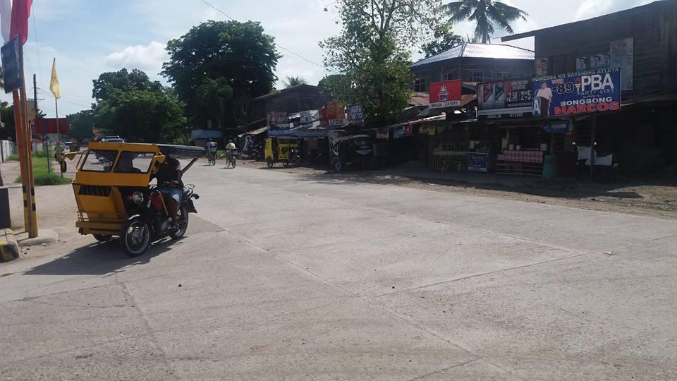 A street scene in Samal..