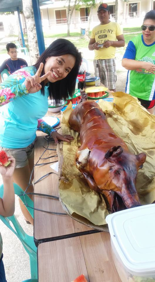 Lechon for Maria's birthday
