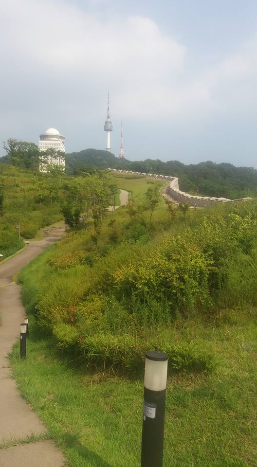 Fortunately I had the foresight to take Friday off. Despite the stifling heat, I spent some time on Namsan...