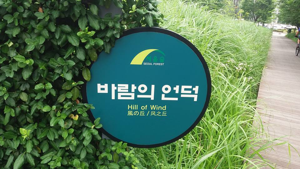 ...Seoul Forest. It was nice to see they had a designated farting area...