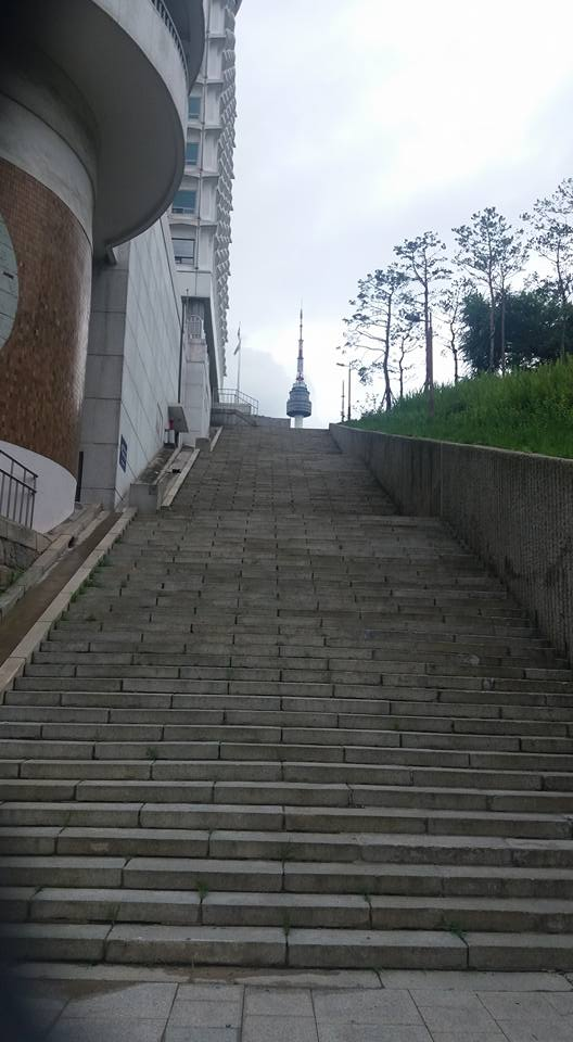 I got reacquainted with Namsan after a two week hiatus. Still an ass kicker.