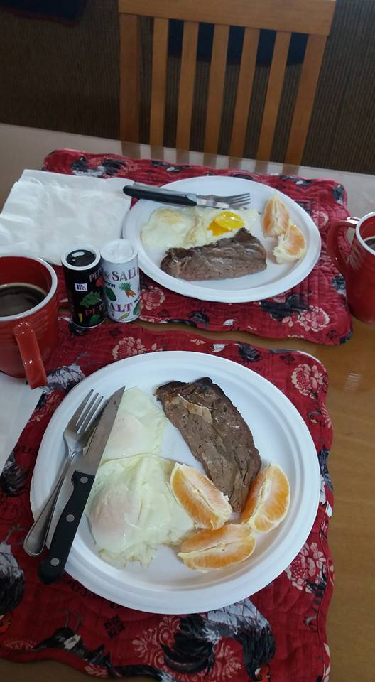 Sunday morning breakfast for two,,,