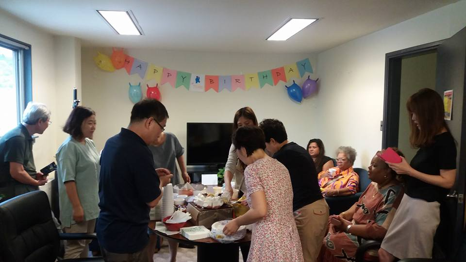 Last year's journey drew to a close with a surprise breakfast birthday party by my sneaky co-workers...