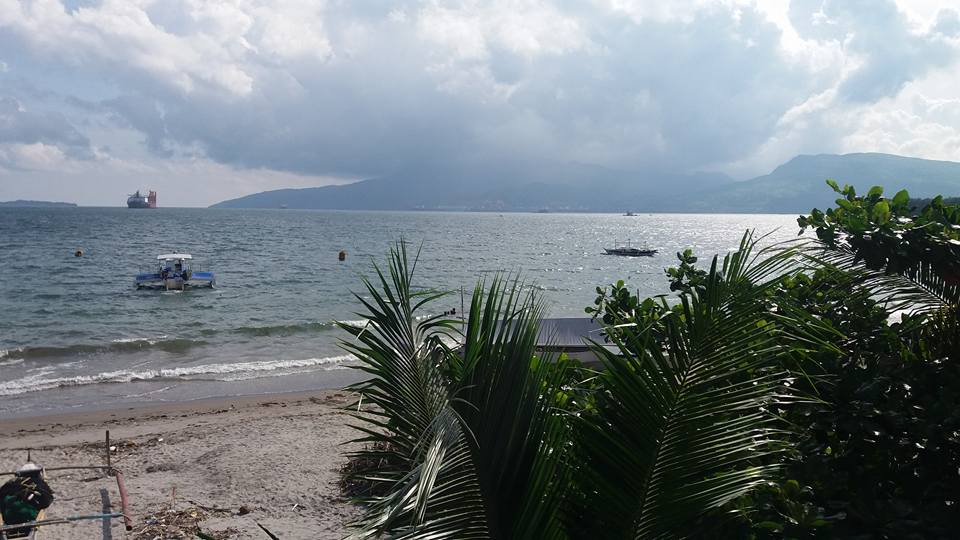 The view of Subic Bay from our balcony...