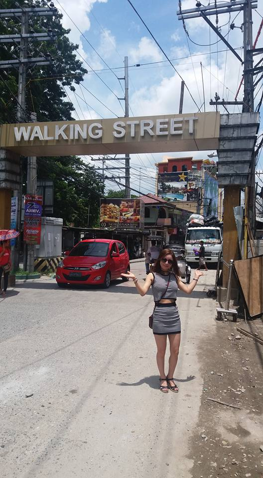 The infamous Walking Street in Angeles City is not as scary by day...