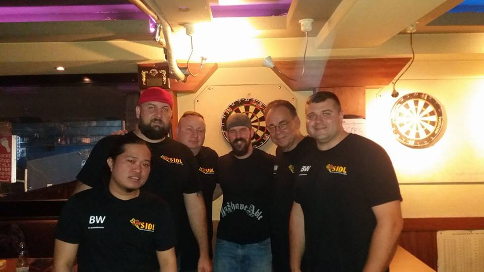 "What the Bulls? Seoul International Dart League ""B"" Division Champions!"